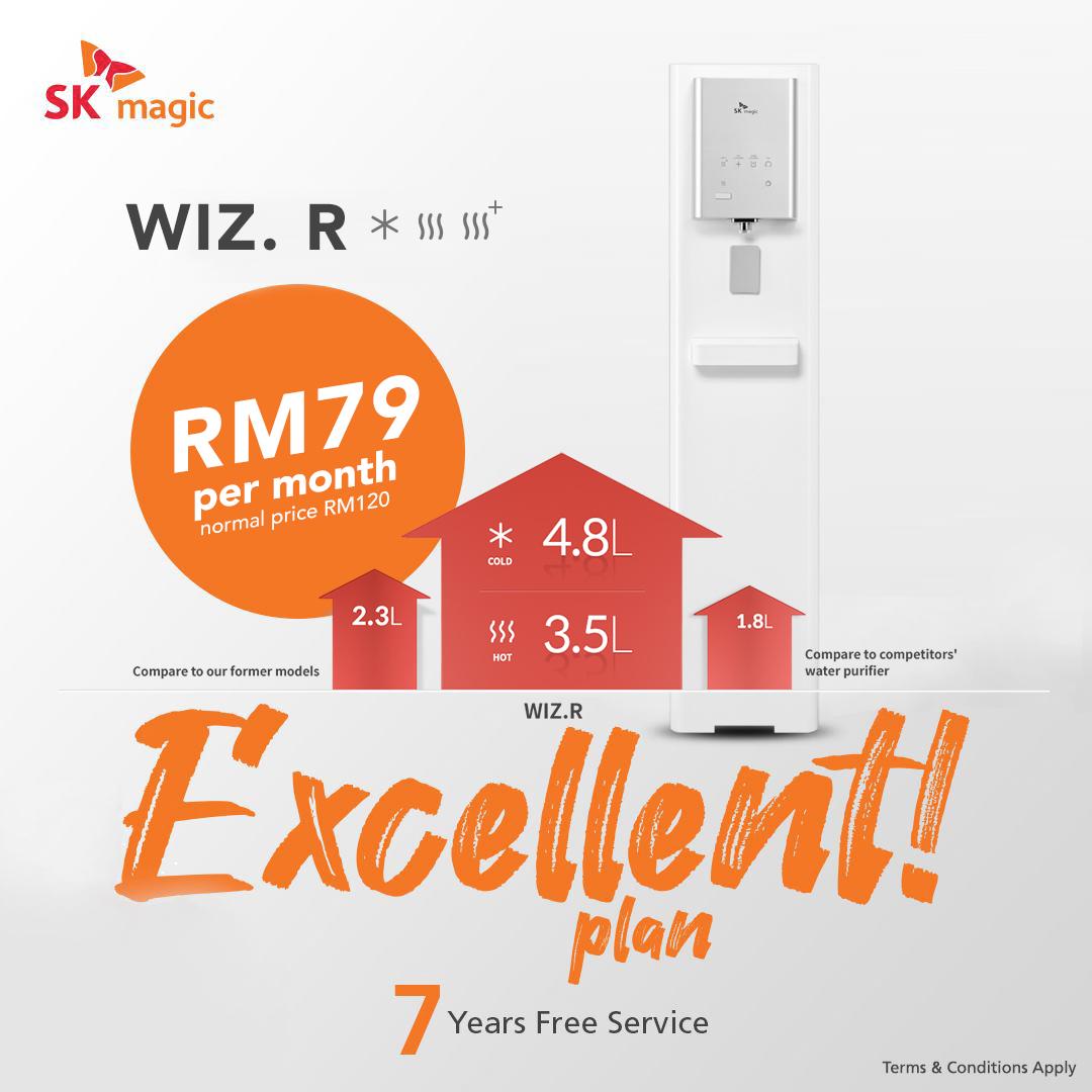 Wiz-R RO water