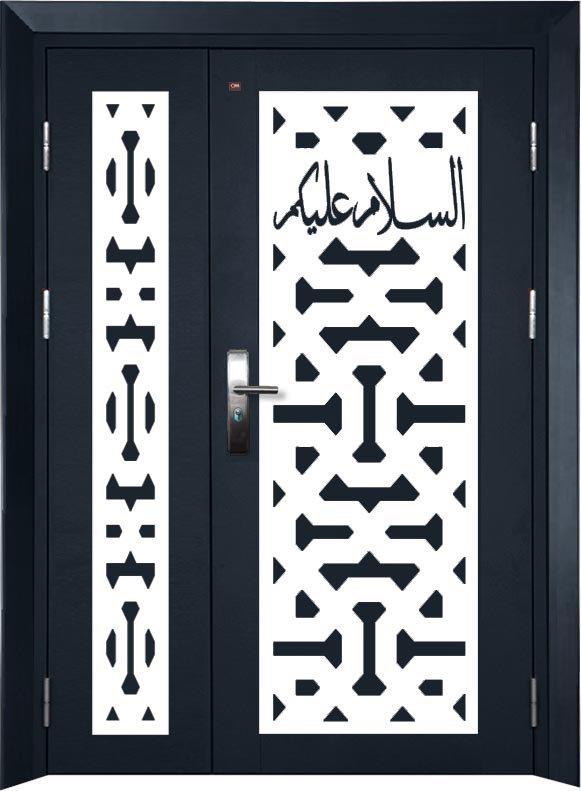 5x7 size single layer security door