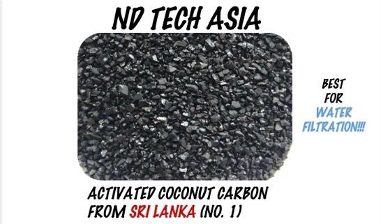 ACTIVATED COCONUT CARBON FROM Sri Lanka