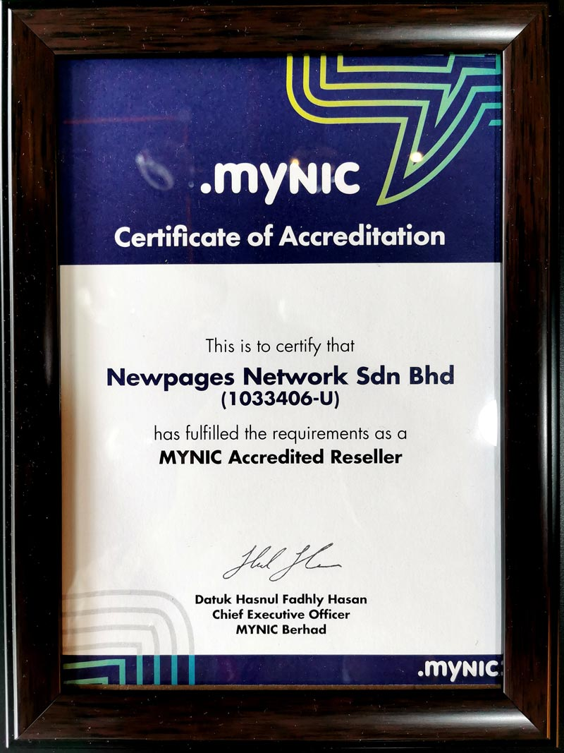 Mynic Accredited Reseller